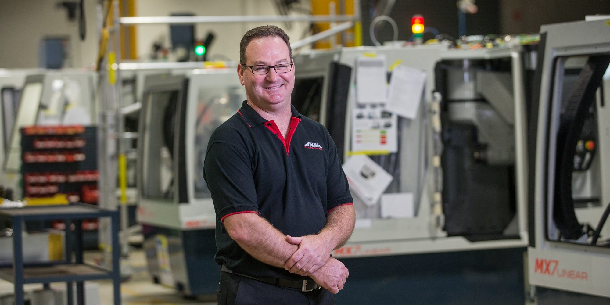 Mark Patman, Manufacturing Operations Manager, ANCA CNC